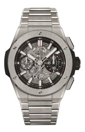 Мужские часы big bang integral titanium HUBLOT серого цвета, арт. 451.NX.1170.NX | Фото 1