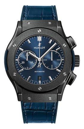 Мужские часы classic fusion ceramic blue chronograph HUBLOT бесцветного цвета, арт. 521.CM.7170.LR | Фото 1