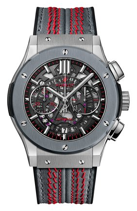 Мужские часы classic fusion aerofusion chronograph cricket world cup 2019 HUBLOT серебряного цвета, арт. 525.NF.0137.VR.WCC19 | Фото 1