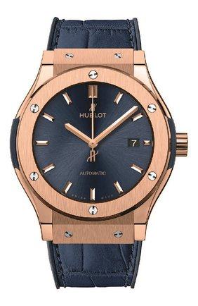 Мужские часы classic fusion blue king gold HUBLOT синего цвета, арт. 542.OX.7180.LR | Фото 1