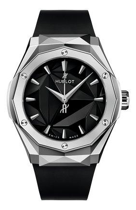 Мужские часы classic fusion classic fusion orlinski titanium HUBLOT бесцветного цвета, арт. 550.NS.1800.RX.ORL19 | Фото 1