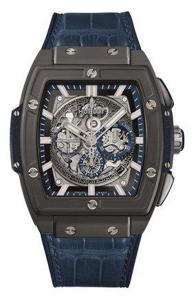 Мужские часы spirit of big bang ceramic blue HUBLOT серого цвета, арт. 601.CI.7170.LR | Фото 1