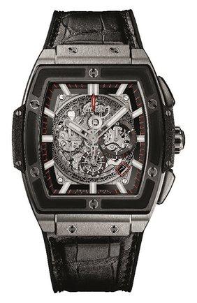 Мужские часы spirit of big bang titanium ceramic HUBLOT серого цвета, арт. 601.NM.0173.LR | Фото 1