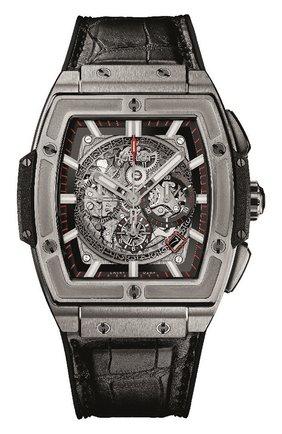 Мужские часы spirit of big bang titanium HUBLOT серого цвета, арт. 601.NX.0173.LR | Фото 1