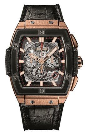 Мужские часы spirit of big bang king gold ceramic HUBLOT серого цвета, арт. 601.OM.0183.LR | Фото 1
