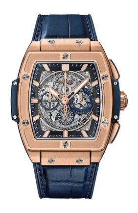 Мужские часы spirit of big bang king gold blue HUBLOT серого цвета, арт. 601.OX.7180.LR | Фото 1