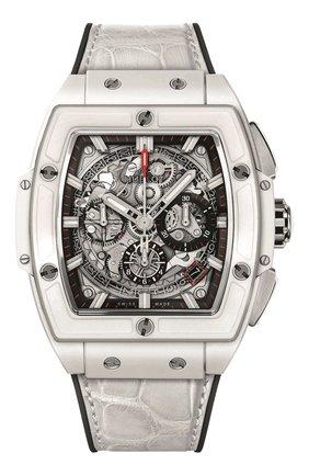 Мужские часы spirit of big bang ceramic white HUBLOT серого цвета, арт. 641.HX.0173.LR | Фото 1