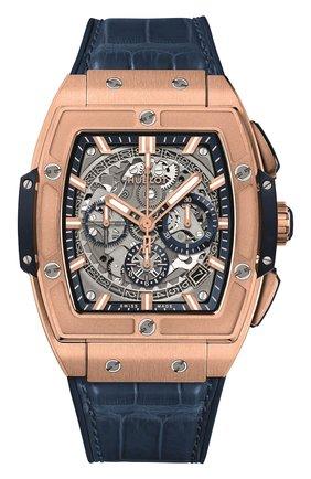 Мужские часы spirit of big bang king gold blue HUBLOT серого цвета, арт. 641.OX.7180.LR | Фото 1