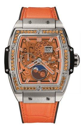 Часы Spirit of Big Bang Moonphase Titanium Orange | Фото №1
