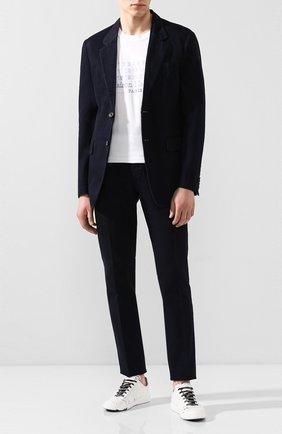 Мужской хлопковый костюм MAISON MARGIELA темно-синего цвета, арт. S30FT0121/S30682   Фото 1