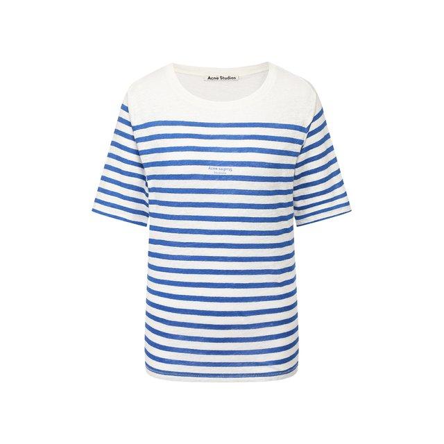 Льняная футболка Acne Studios — Льняная футболка