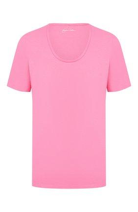 Женская хлопковая футболка WINDSOR розового цвета, арт. 52 DT310 10009094   Фото 1