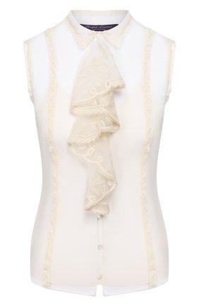 Женский топ RALPH LAUREN белого цвета, арт. 290820266 | Фото 1
