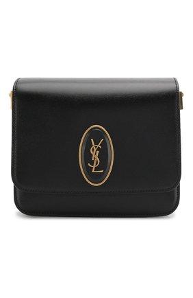 Женская сумка le 61 besace small SAINT LAURENT черного цвета, арт. 617102/02G0W | Фото 1