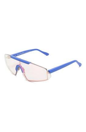 Мужские солнцезащитный очки ACNE STUDIOS голубого цвета, арт. C30016/W | Фото 1