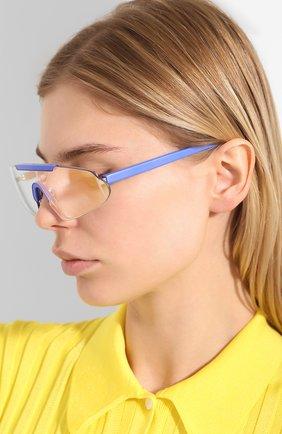 Мужские солнцезащитный очки ACNE STUDIOS голубого цвета, арт. C30016/W | Фото 2