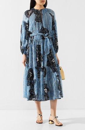 Женские кожаные босоножки RENE CAOVILLA черного цвета, арт. C09966-040-C001V001 | Фото 2