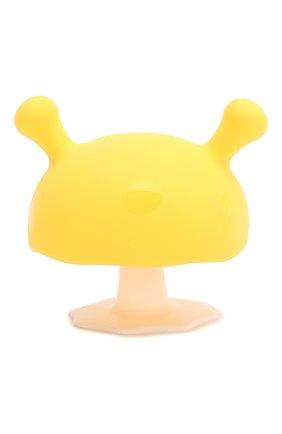 Детского прорезыватель MOMBELLA желтого цвета, арт. 8054 | Фото 1