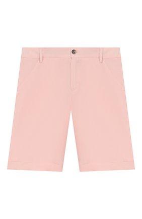 Детские льняные шорты LORO PIANA светло-розового цвета, арт. FAI9680 | Фото 1