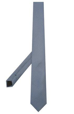 Мужской шелковый галстук BOSS синего цвета, арт. 50434875 | Фото 2