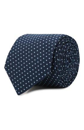 Мужской галстук BOSS синего цвета, арт. 50434872 | Фото 1