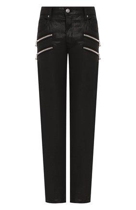 Мужские джинсы BALMAIN черного цвета, арт. TH05421/Z011 | Фото 1