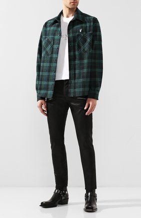 Мужские джинсы BALMAIN черного цвета, арт. TH05421/Z011 | Фото 2