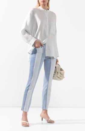 Женские джинсы PAIGE голубого цвета, арт. 5794F72-7637 | Фото 2