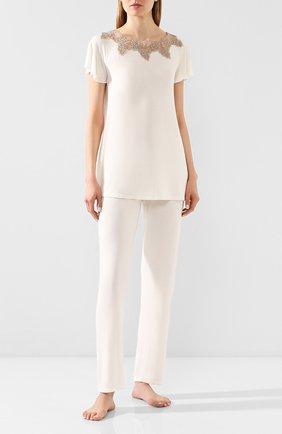 Женская пижама RITRATTI MILANO кремвого цвета, арт. 71120   Фото 1