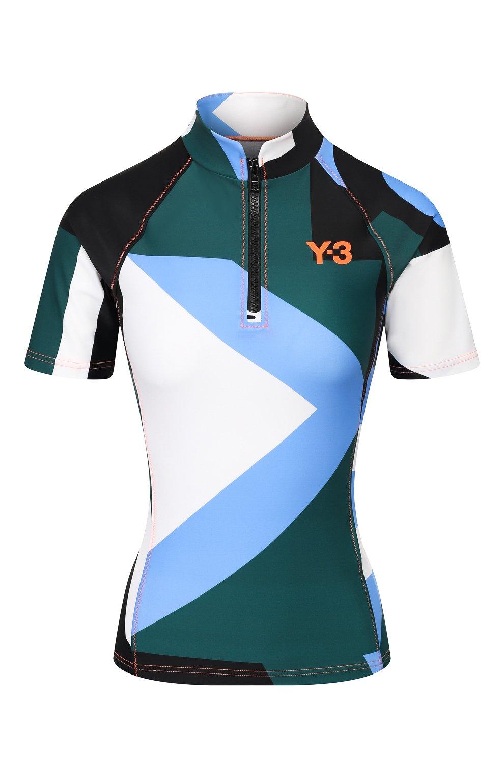 Женская футболка Y-3 разноцветного цвета, арт. FS4075/W | Фото 1