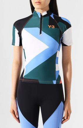 Женская футболка Y-3 разноцветного цвета, арт. FS4075/W | Фото 3