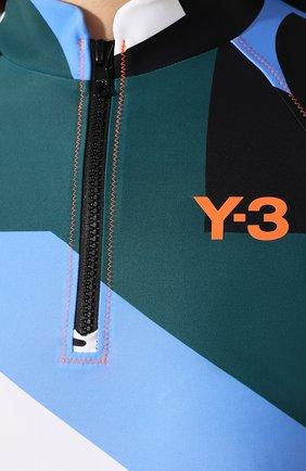Женская футболка Y-3 разноцветного цвета, арт. FS4075/W | Фото 5
