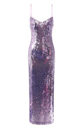Женское платье с пайетками GALVAN LONDON фиолетового цвета, арт. 120SGDR003608 | Фото 1