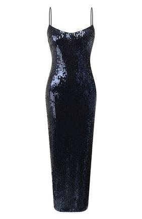 Женское платье с пайетками GALVAN LONDON темно-синего цвета, арт. 120SGDR003605 | Фото 1