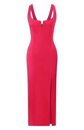 Женское платье из вискозы GALVAN LONDON фуксия цвета, арт. 120SEDR003407 | Фото 1