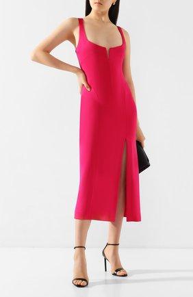 Женское платье из вискозы GALVAN LONDON фуксия цвета, арт. 120SEDR003407 | Фото 2