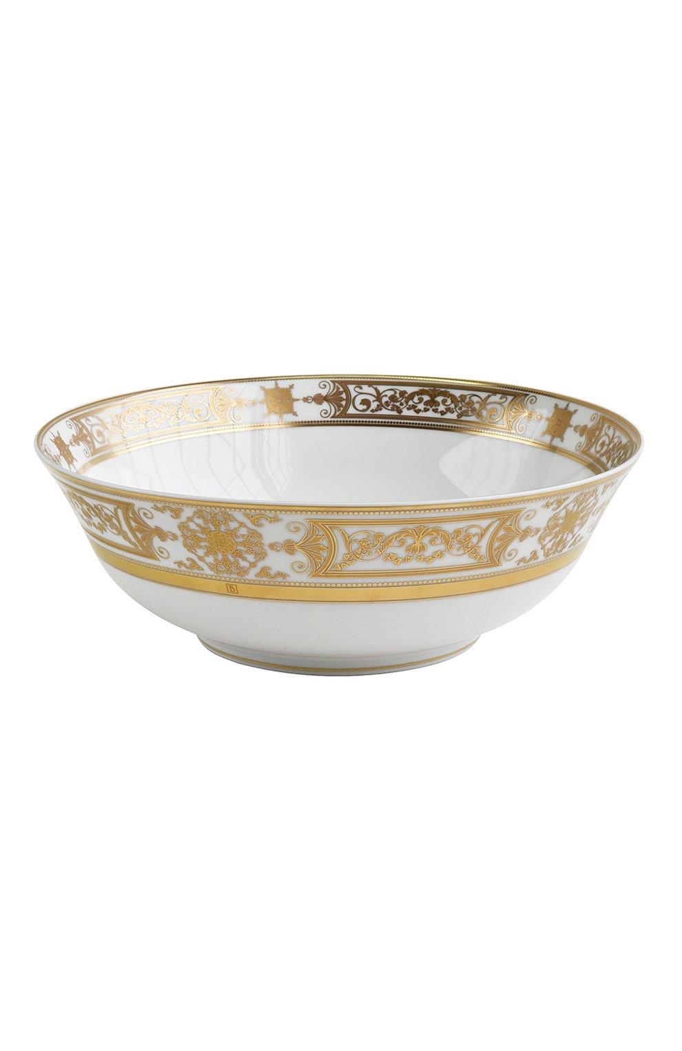 Мужского салатник aux rois or  BERNARDAUD золотого цвета, арт. 1847/127 | Фото 1