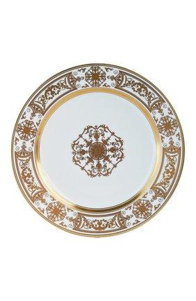 Тарелка салатная aux rois or BERNARDAUD золотого цвета, арт. 1847/17 | Фото 1