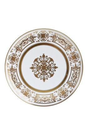 Мужского блюдо для торта aux rois or BERNARDAUD золотого цвета, арт. 1847/21267   Фото 1