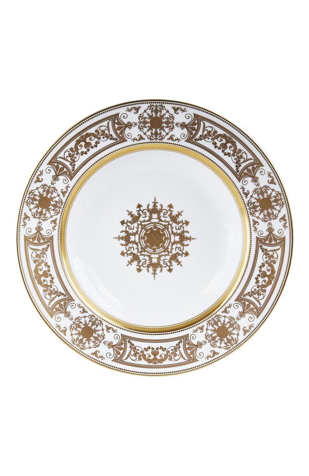 Мужского тарелка суповая aux rois or  BERNARDAUD золотого цвета, арт. 1847/23   Фото 1