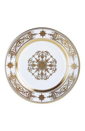 Мужского тарелка для хлеба и масла aux rois or  BERNARDAUD золотого цвета, арт. 1847/3   Фото 1