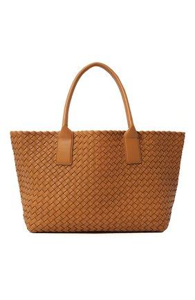 Женская сумка сabat BOTTEGA VENETA светло-бежевого цвета, арт. 608809/VATH3 | Фото 1
