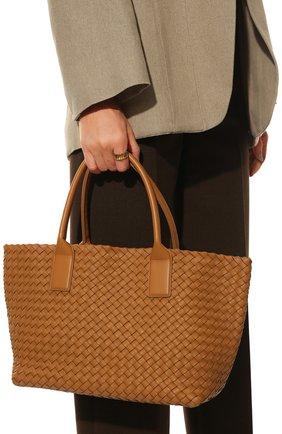 Женская сумка сabat BOTTEGA VENETA светло-бежевого цвета, арт. 608809/VATH3 | Фото 2