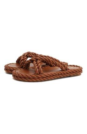 Кожаные шлепанцы The Rope | Фото №1