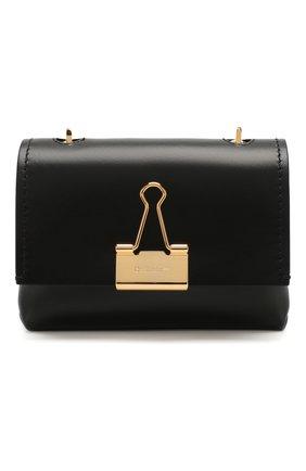 Женская сумка soft small OFF-WHITE черного цвета, арт. 0WNA121S20LEA0011000 | Фото 1