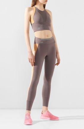 Женские текстильные кроссовки ADIDAS ORIGINALS розового цвета, арт. EF5386 | Фото 2