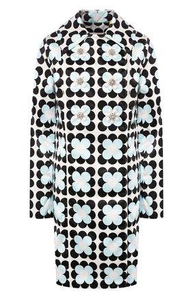 Женское пальто 0 moncler richard quinn MONCLER GENIUS черно-белого цвета, арт. F1-09F-1C705-00-54AM0   Фото 1