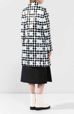 Женское пальто 0 moncler richard quinn MONCLER GENIUS черно-белого цвета, арт. F1-09F-1C705-00-54AM0   Фото 4