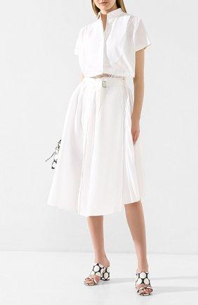 Женское платье SACAI белого цвета, арт. 20-04882 | Фото 2