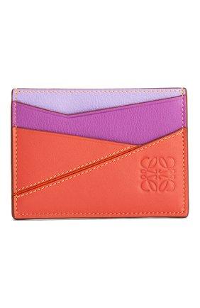 Женский футляр для кредитных карт loewe x paula's ibiza LOEWE оранжевого цвета, арт. 128.30WV33/ | Фото 1